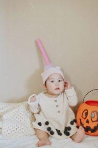 ハロウィン仮装はタピオカコス