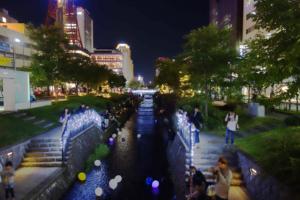 創成川LEDイベント2019キャンドルストリームはいよいよグランドフィナーレ!