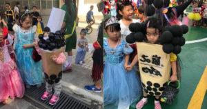 ハロウィン2019流行している仮装はタピオカ