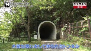 ブラタモリ神居古潭トンネル